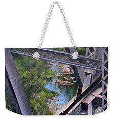 View From The Bridge--sedona, Az Weekender Tote Bag