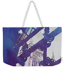 View From The Cloister Weekender Tote Bag by Jenny Armitage