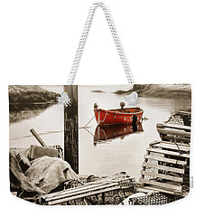 View From The Dock Weekender Tote Bag