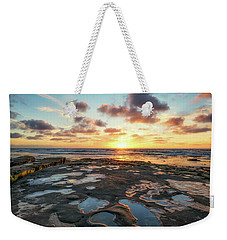 View From The Reef Weekender Tote Bag
