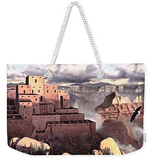 View From The Rim Weekender Tote Bag