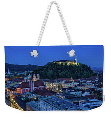 Weekender Tote Bag featuring the photograph View From The Skyscraper #2 - Slovenia by Stuart Litoff