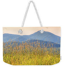 Weekender Tote Bag featuring the photograph View From The Tent by Alan L Graham