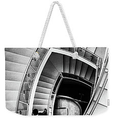View From The Top Of A Stairwell At The Overture Center Weekender Tote Bag
