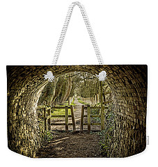 View From The Tunnel Weekender Tote Bag