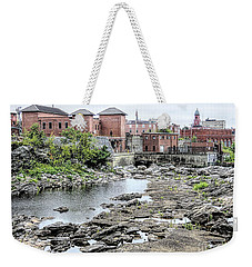 View From West Pitch Park Auburn Maine Weekender Tote Bag
