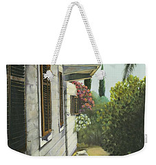View In A Croatian Garden Weekender Tote Bag