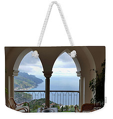 View Of Amalfi Coast Weekender Tote Bag