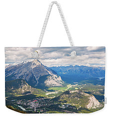 View Of Banff Weekender Tote Bag