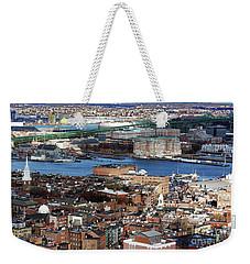 View Of Charlestown Navy Yard Weekender Tote Bag