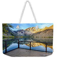 View Of Convict Lake Weekender Tote Bag