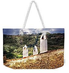 View Of Migjorn Via Toledo Ala El Greco Weekender Tote Bag