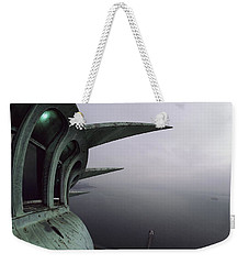 View Of New York Harbor From The Top Weekender Tote Bag