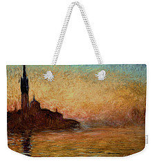 View Of San Giorgio Maggiore Weekender Tote Bag