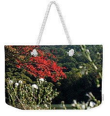 View Of Sharp Top In Autumn Weekender Tote Bag