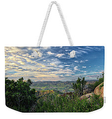 View Of Simi Valley Weekender Tote Bag by Endre Balogh