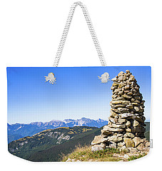 View Of The Apuan Alps Weekender Tote Bag