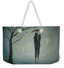 View Of The City Weekender Tote Bag by Raymond Doward