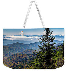 View Of The Great Smoky Mountains Weekender Tote Bag