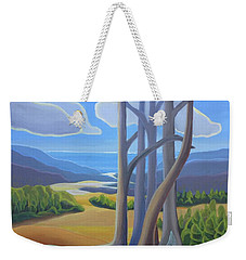 View Of The Lake Weekender Tote Bag