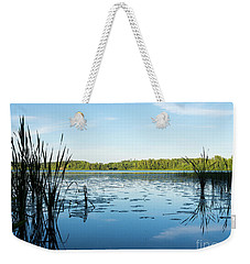 View Of The Lake Enajarvi Weekender Tote Bag