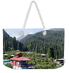 View Of The Mountains Weekender Tote Bag