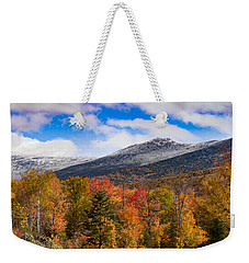 View Of The Presidential Mountains Weekender Tote Bag