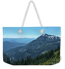 View Of The Tatoosh Weekender Tote Bag