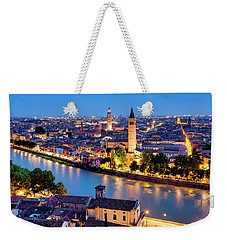 Weekender Tote Bag featuring the photograph View Of Verona by Fabrizio Troiani