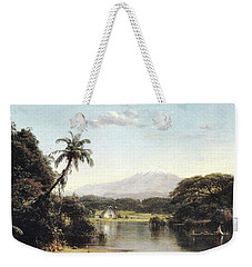 View On The Magdalena River Weekender Tote Bag