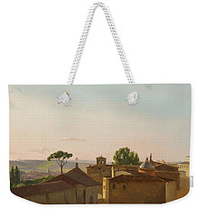 View On The Quirinal Hill. Rome Weekender Tote Bag by Simon Denis