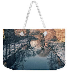 View Onto The River  Weekender Tote Bag