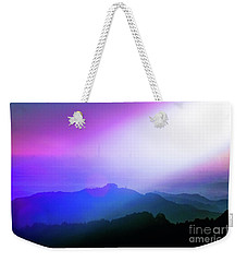 Weekender Tote Bag featuring the photograph View Point by Tatsuya Atarashi