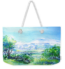 View Through The Gap,wicklow  Weekender Tote Bag by Trudi Doyle