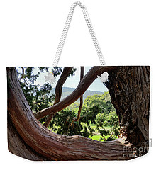 View Through The Tree Weekender Tote Bag