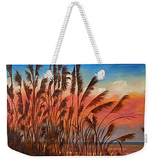 View Thru Seaoats Sold Weekender Tote Bag by Susan Dehlinger