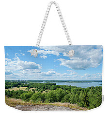 View To Lake Lohjanjarvi Weekender Tote Bag