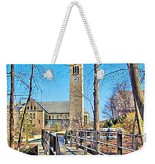 View To Mcgraw Tower Weekender Tote Bag