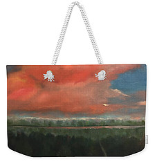 View To Yell County Weekender Tote Bag