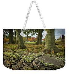 View Toward The Cemetery Weekender Tote Bag