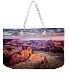 Views From The Edge  Weekender Tote Bag by Nicki Frates