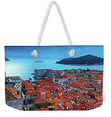 Views Of Dubrovnik, The Port And The Adriatic Sea Weekender Tote Bag