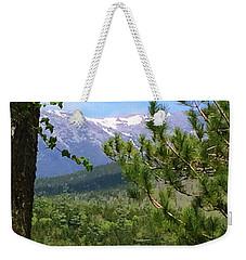 Views Of Katahdin Weekender Tote Bag by Robin Regan