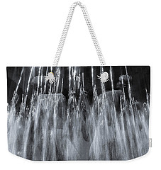 Vigeland Fountain In Blue Weekender Tote Bag