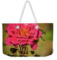 Vignetted  Rose Weekender Tote Bag by Robert Bales