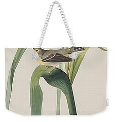 Vigor's Warbler Weekender Tote Bag by John James Audubon