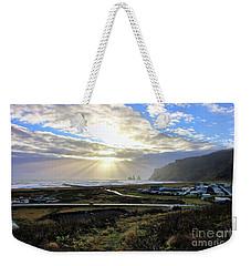 Vik Iceland Sunrays 7028 Weekender Tote Bag