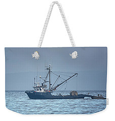 Weekender Tote Bag featuring the photograph Viking Fisher 3 by Randy Hall