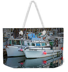 Weekender Tote Bag featuring the photograph Viking Maid by Randy Hall