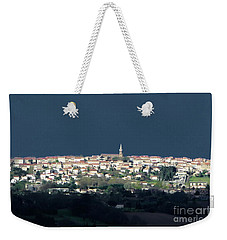 Village Before The Storm Weekender Tote Bag